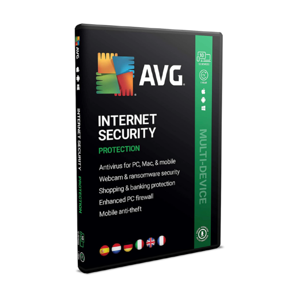 AVG Internet Security 2021 1 Year 1 PC Sri Lanka DigitalGoods.lk