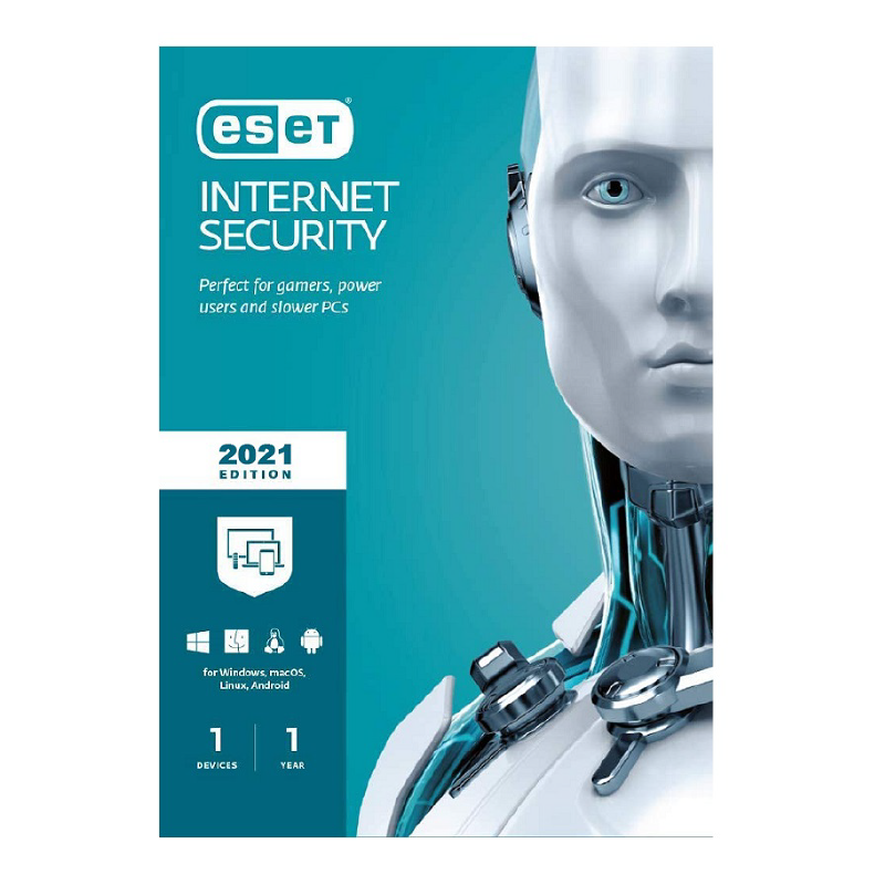 ESET Internet Security 2021 1 Year 1 Device Sri Lanka Genuine License